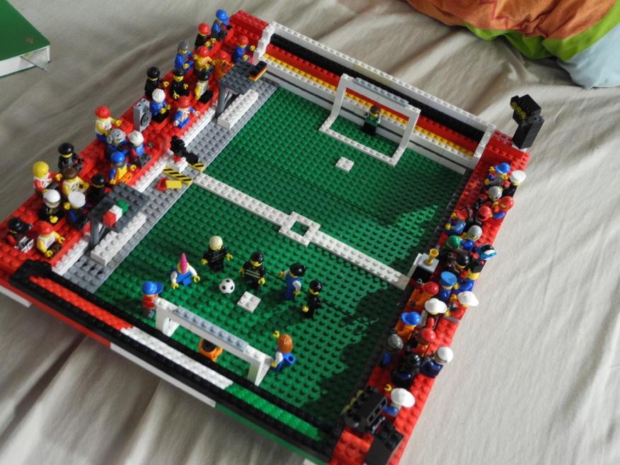 lego soccer stadium instructions