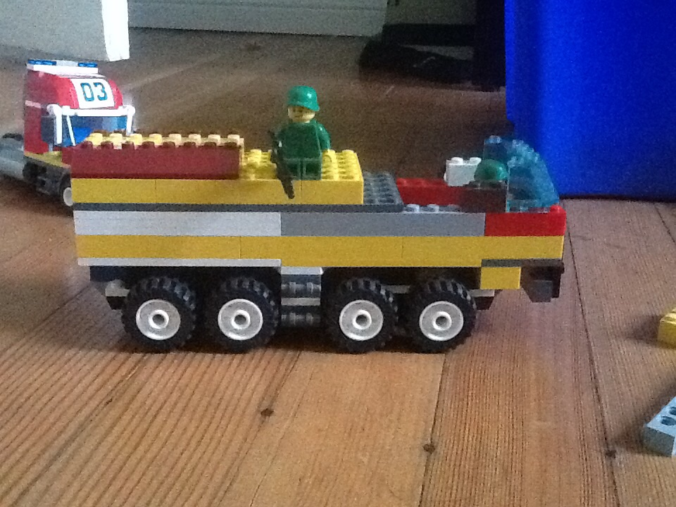 lego instructions to build a tank