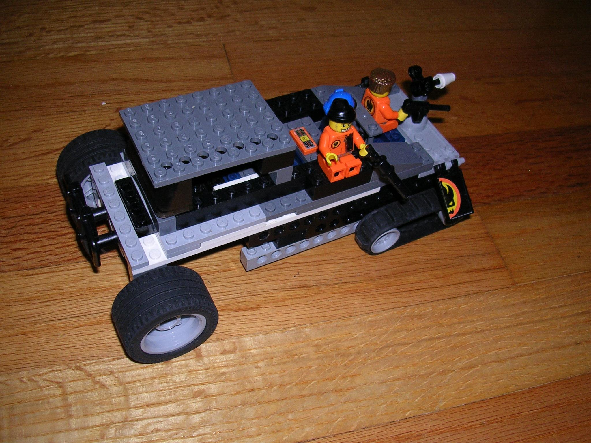 lego army truck instructions