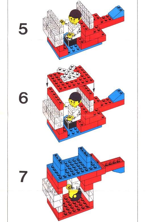 Как сделать простой механизм из лего