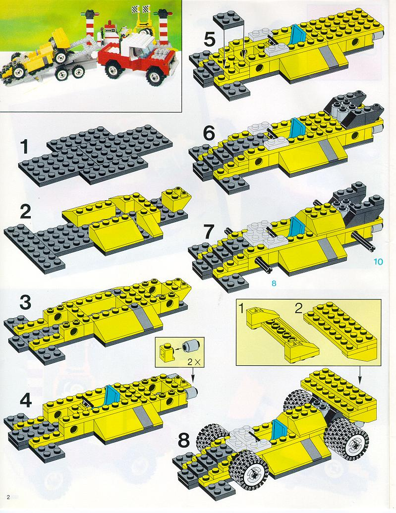 Машинки из лего схемы для начинающих