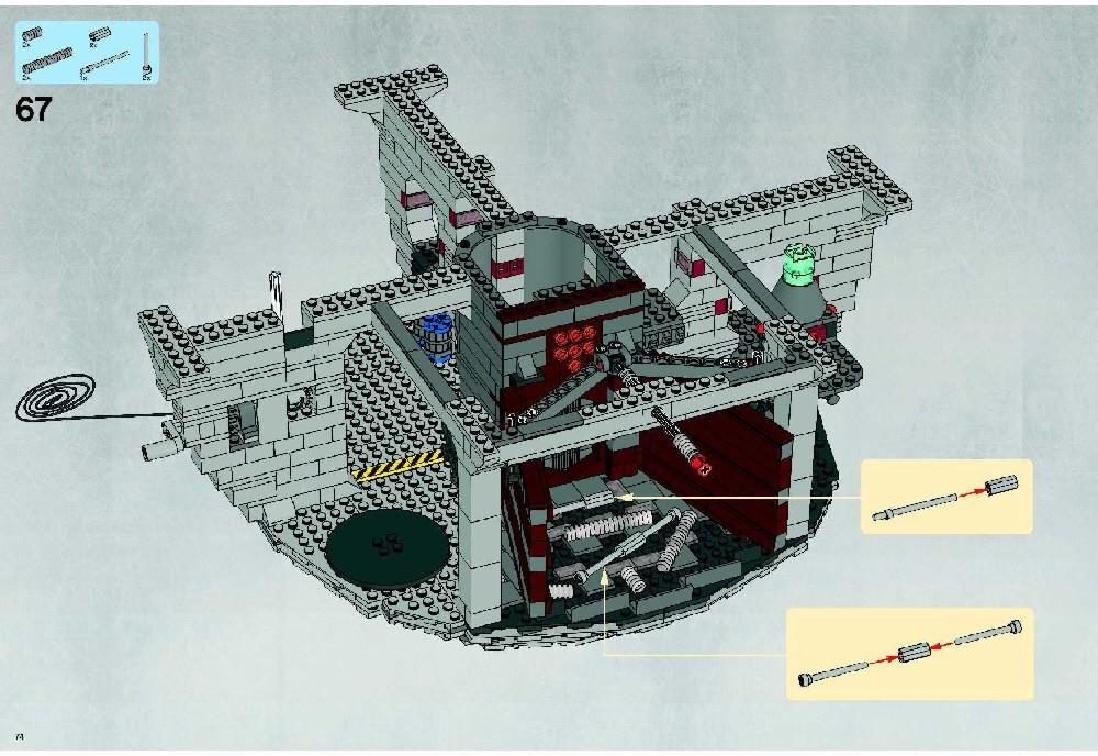 lego death star 10188 instructions