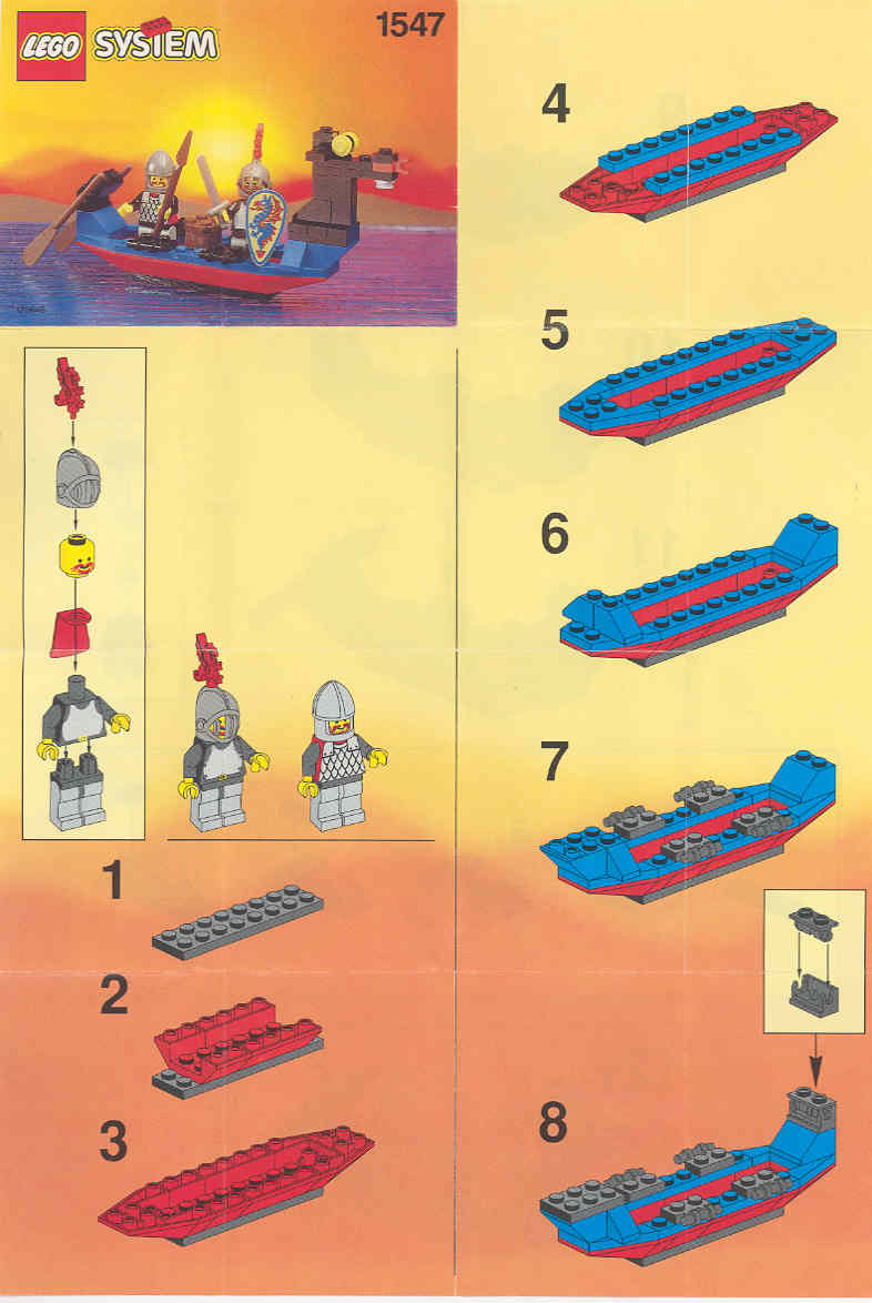 simple lego instructions free