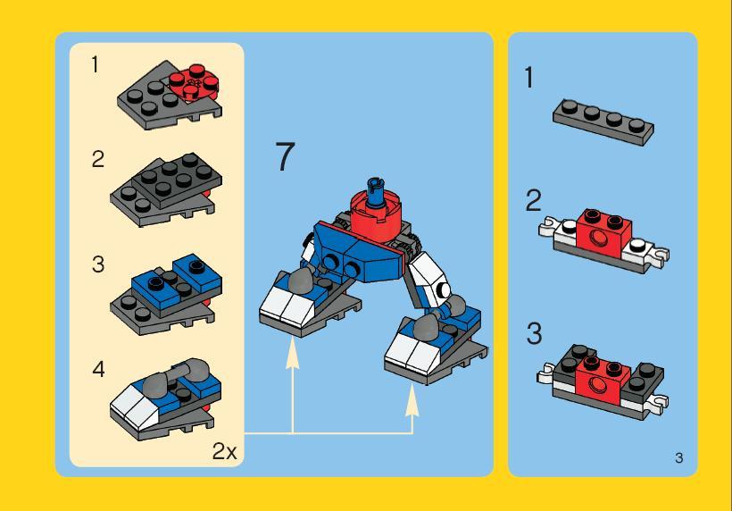 Роботы из лего своими руками схемы 37
