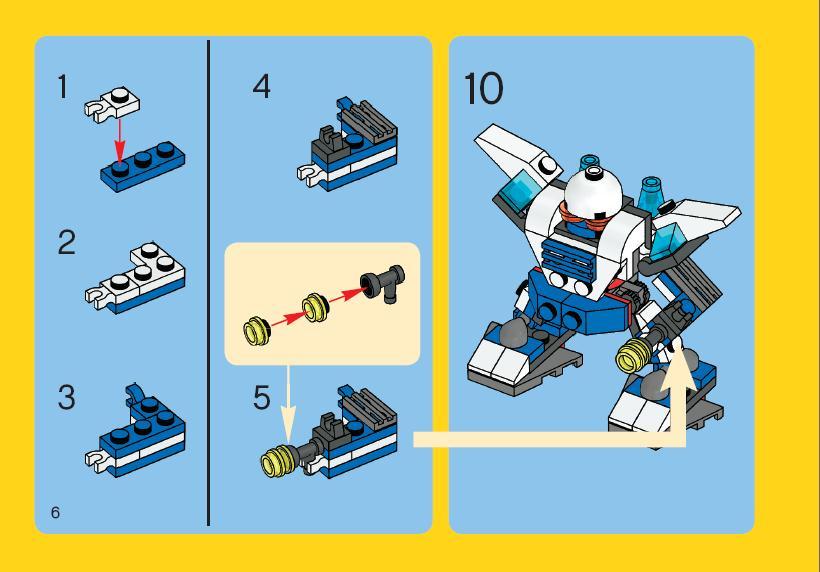 Роботы из лего как сделать инструкция