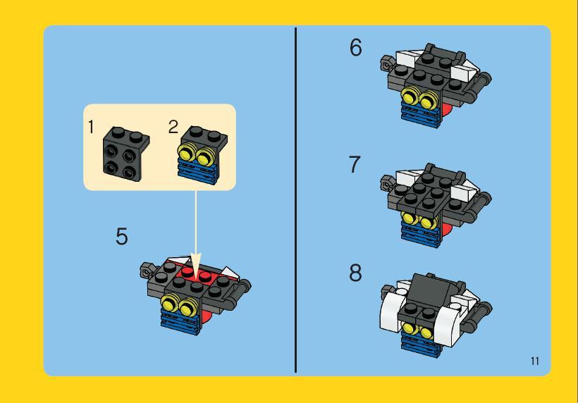 Роботы из лего своими руками схемы 54