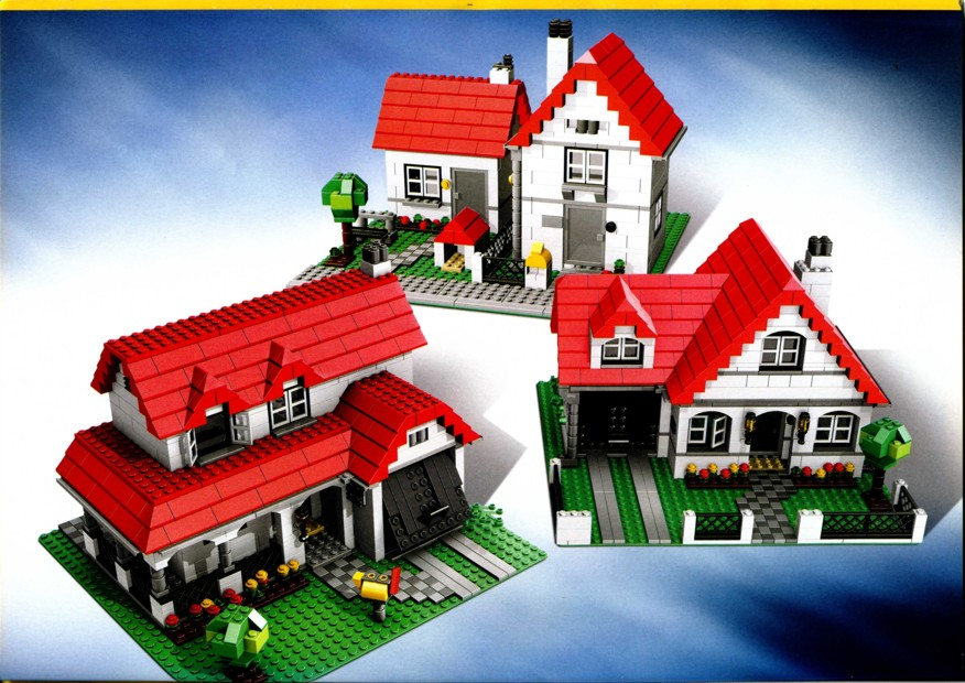 Lego Creator Maison Lego Creator Xl Family House 31012 756pcs Bnisb