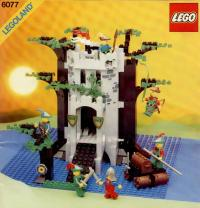 Free LEGO Instructions 6077 Forestmen's River Fortress