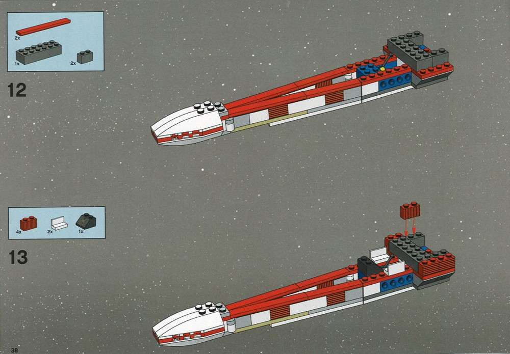 lego b wing instructions