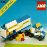 Free LEGO Instructions 6367 Large Truck