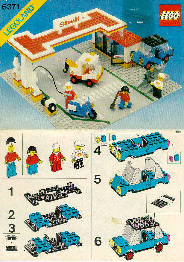 old lego instructions. Black Bedroom Furniture Sets. Home Design Ideas
