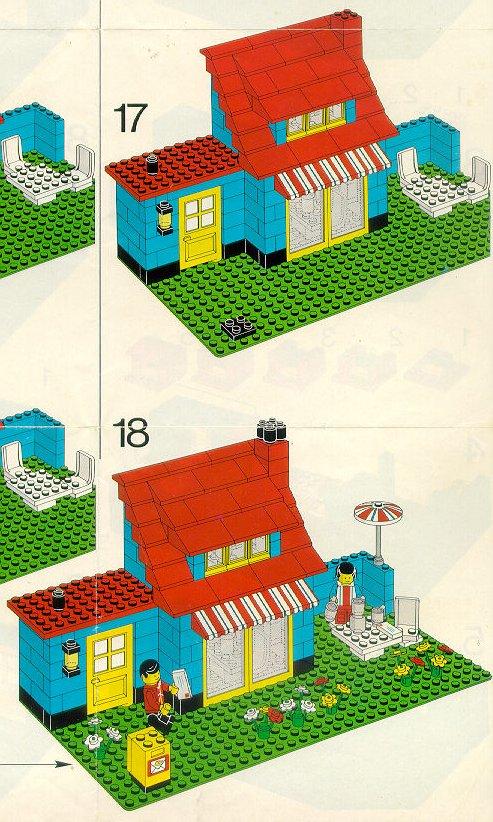 old lego instructions. Black Bedroom Furniture Sets. Home Design Ideas