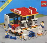lego instructions 6378 shell service station. Black Bedroom Furniture Sets. Home Design Ideas