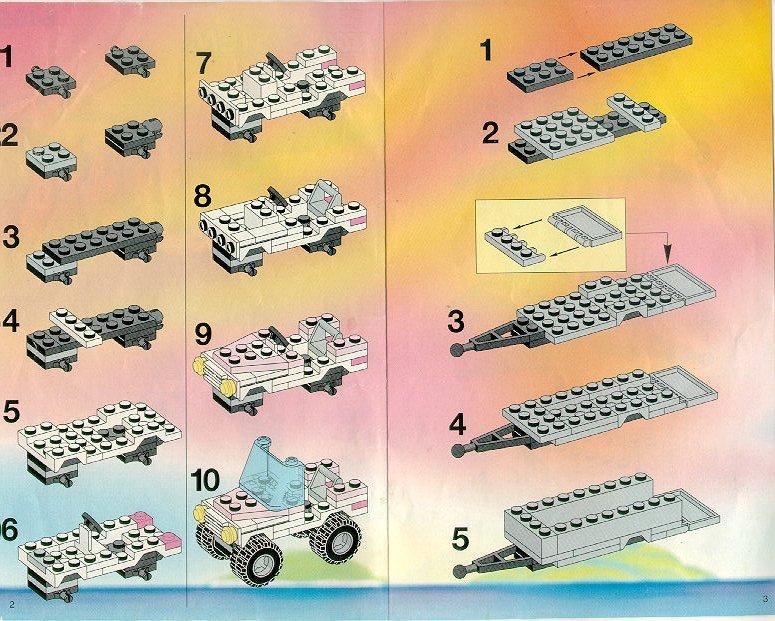 Tir Lego Instrukcja