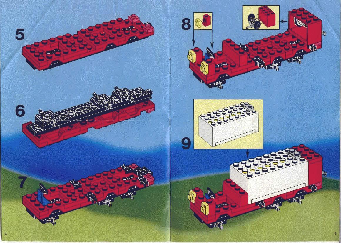 lego truck building instructions