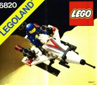 lego space instructions 1980s