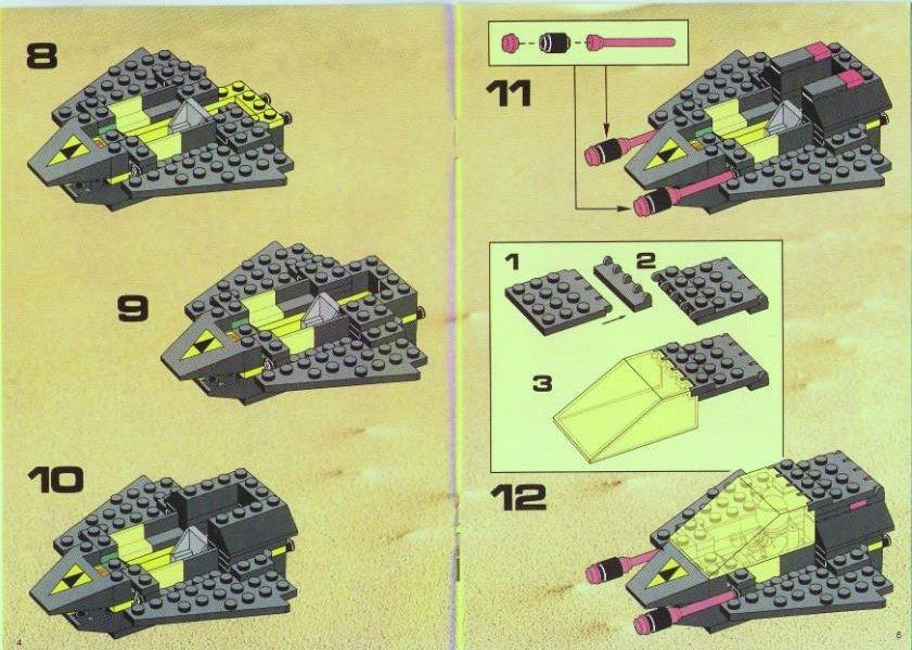 модели лего схема