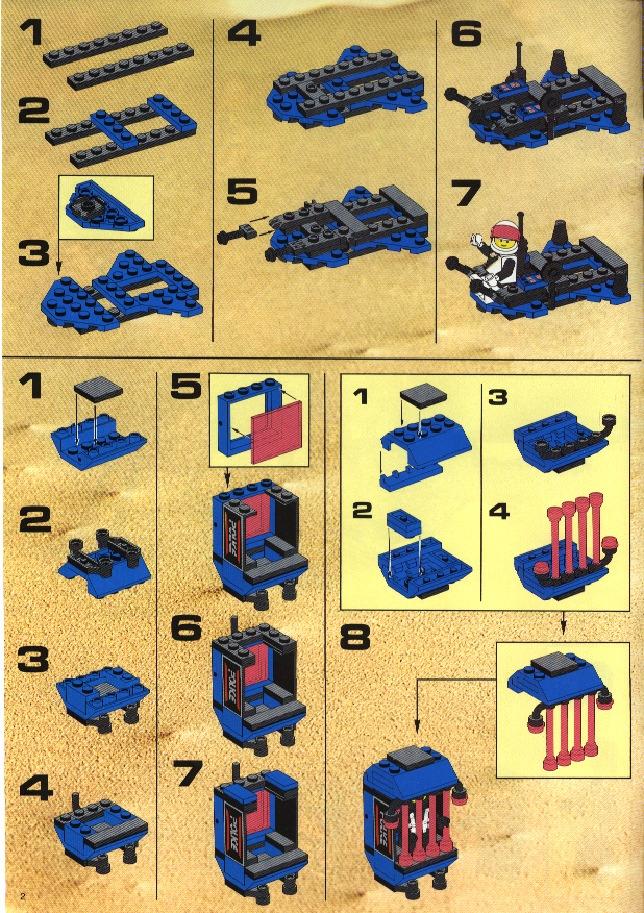 free printable lego instructions