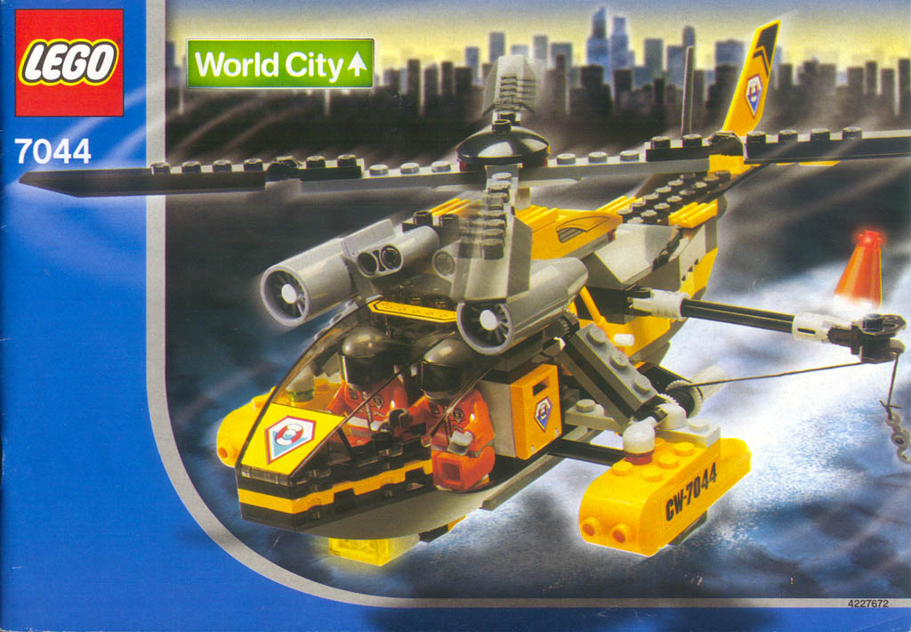 Build Helicopter With Lego