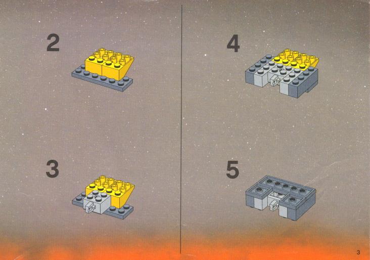 7256 LEGO ® Recipe//instruction n