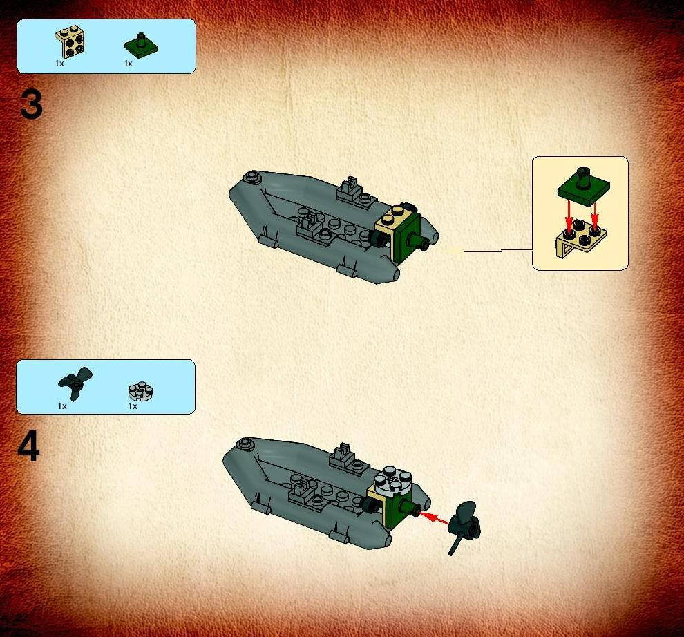 Old LEGO® Instructions