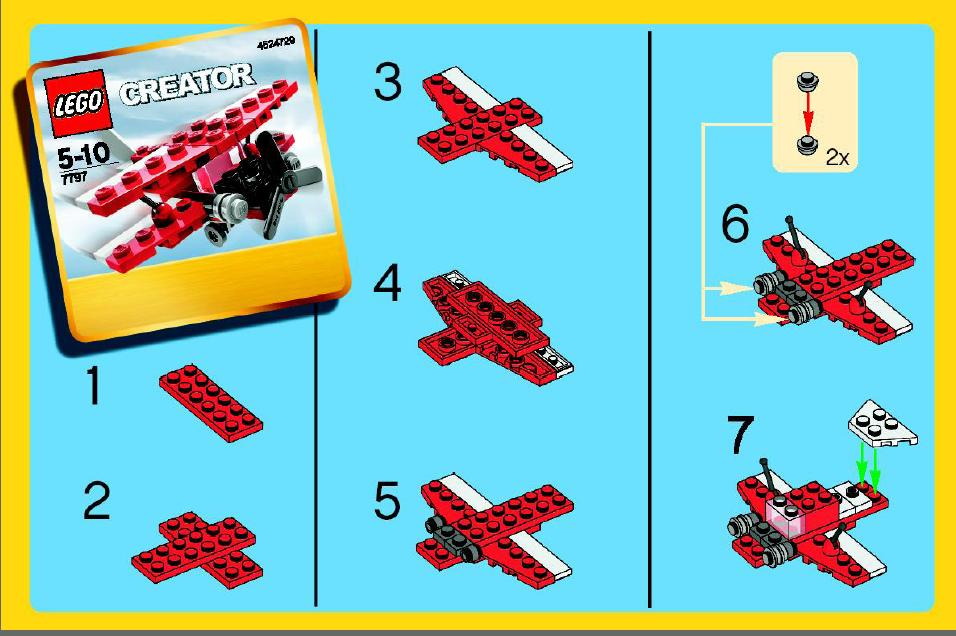 Old Lego Instructions Letsbuilditagain