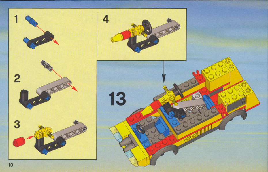 Lego Fire Truck Instructions 60061