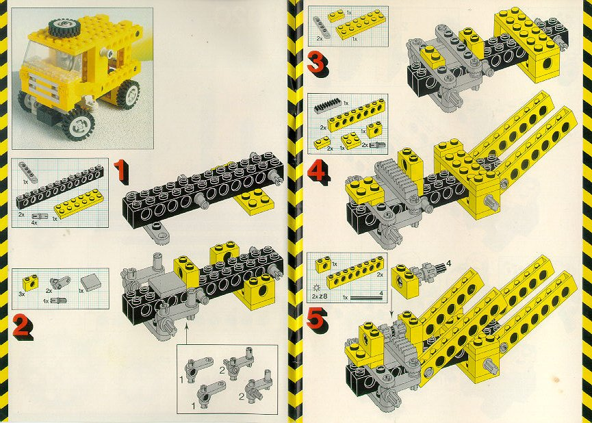 lego technic instructions free