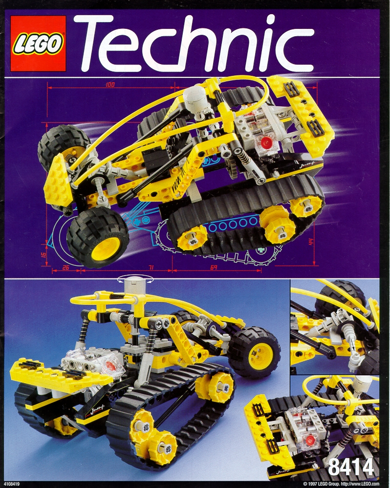 old lego technic instructions